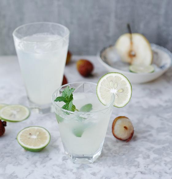 荔枝檸檬雪梨汁