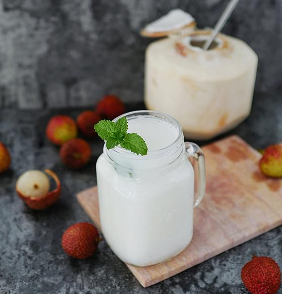 荔枝椰子汁