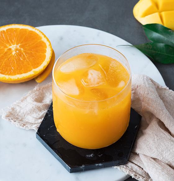 芒果鮮橙汁